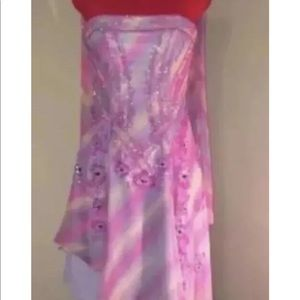 0b2c2146e8 jasz couture adagio bella Dresses - JASZ COUTURE ADAGIO BELLA TIE DYE PROM  DRESS SZ4